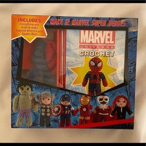 Marvel Universe Crochet Set